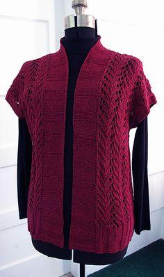 Four Seasons Vine Lace Vest downloaded Sept 1/ 17