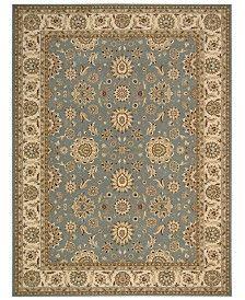 "Nourison Area Rug, Persian King PK02 Blue 7'10"" x 10'6"""
