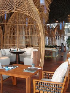 BALI-W HOTEL-Chic Restaurant in Bali Style
