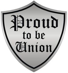Proud to be union Hard Hat Stickers, Laptop Stickers, Union Carpenter, Union Logo, Construction Safety, Workers Union, Cool Picks, Political Beliefs, Labor Union