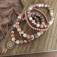 Gemstone Bracelets, Handmade Bracelets, Jewelry Bracelets, Jewelery, Pandora Jewelry, Diy Schmuck, Schmuck Design, Bracelet Crafts, Jewelry Crafts