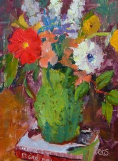 Roxanne Steed#flowers in a vase