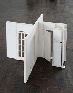 'Front Steps, Balcony, Stairway, hallway, bedroom, study' byKatrin Sigurdardóttir, 2011.