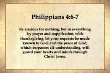 philippians 4 6-7 - Google Search Philippians 4 6 7, Christ, Prayers, Google Search, Prayer, Beans