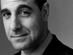 Stanley Tucci <3   one of my favorite actors.   so great in the Hunger Games
