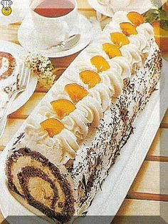 Svet receptov: Čokoládová roláda s pomarančovým krémom Ethnic Recipes, Food, Essen, Meals, Yemek, Eten