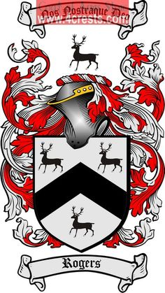 Irish Coats of Arms Family Crests | Rogers Coat of Arms / Rogers Family Crest
