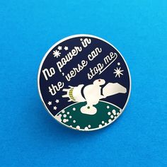 """""""No Power In The Verse Can Stop Me"""" Firefly Enamel Lapel Pin Badge 