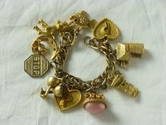 Treasure Chest Thursday: Penny's Charm Bracelet #genealogy #familyhistory