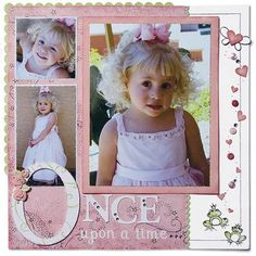 jeanettelynton.com: March 2009    What a beautiful layout for my little fairy princess...