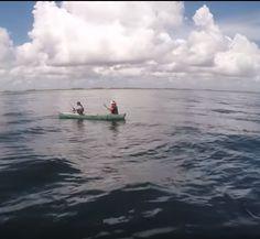 Gargantuan Grouper Flips Unlucky Fishermens Boat