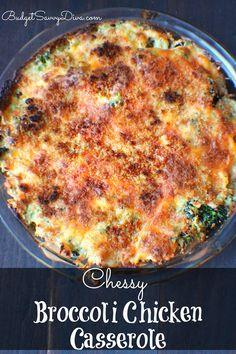 Cheesy Broccoli Chicken Casserole Recipe