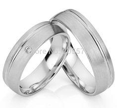 bicolor western health titanium custom egagement wedding ring sets for couples men and women