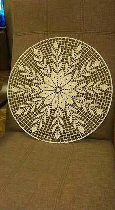 Lace Owl pattern by Marina Kiselyova Crochet Mandala Pattern, Crochet Lace Edging, Crochet Doily Patterns, Thread Crochet, Filet Crochet, Crochet Doilies, Crochet Flowers, Crochet Home, Love Crochet