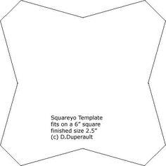 DawnPages -- The Square Yo-yo-another way to make a square yo yo