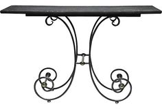 French Bistro Console Table