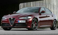 Monza Red Giulia Veloce