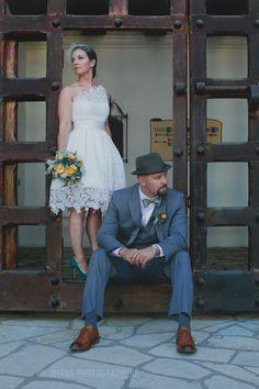 santa barbara courthouse and elings park wedding