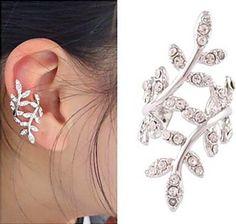 Crystal Vine Ear Cuff