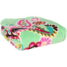 Vera Bradley Tutti Frutti Throw Blanket:Amazon.co.uk ❤ liked on Polyvore featuring bedding