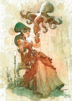 Steam-powered inspiration - theartofanimation: Brian Kesinger