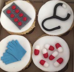 Cupcakes personalizados!  Medicina