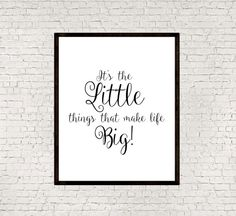 Gift quoteGift posterTypography artInspirational by mixarthouse