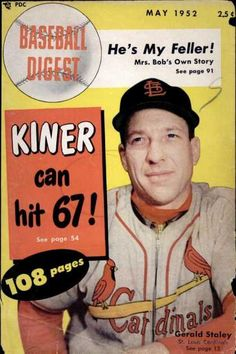 baseball digest covers | Baseball Digest - May 1952