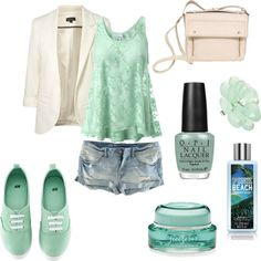 """more mint!"" by kkaylawoodssx on Polyvore"