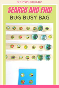 Are you a busy momma? Keep your little ones busy as well with this fun craft for toddlers! Check out the blog for more details on these Search and Find Bug Busy Bag! This toddler craft is perfect for preschoolers as well, to keep your little ones occupied. It's also an amazing toddler game, good for two. An easy craft, fuss-free activity plus a creative busy bag idea rolled into one? Yes please! I guarantee your preschooler will thank you for this#toddlercrafts #toddleractivities #preschoolcraft