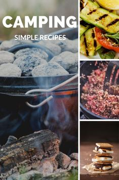 Everything tastes better over a campfire and eaten at a campsite. Get 101 desserts, entrees, chicken, chili and even jerky recipes! Jerky Recipes, Camping Meals, Entrees, Easy Meals, Beef, Chicken, Desserts, Food, Camp Meals