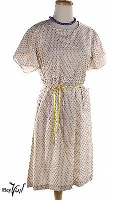 Sprigged-Cotton-Vintage-Day-Dress-Has-1930s-to-50s-Style-sz-ML-Hey-Viv
