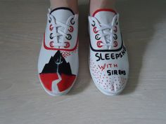 Inspiration // Sleeping With Sirens Shoes by ~MissLessie on deviantART #SWS