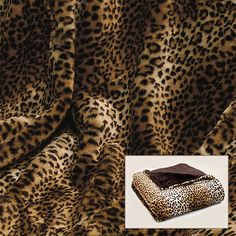 <li>Update your bedroom decor with this cozy leopard faux fur throw<li>Extremely comfy throw is great for home, sporting events or in the car<li>Throw features extra soft microfiber plush backing Oversized Throw Blanket, Faux Fur Throw, Leopard Print Bedding, Leopard Prints, Sexy Home, Accent Decor, Animal Print Rug, Print Patterns, Bedroom Decor