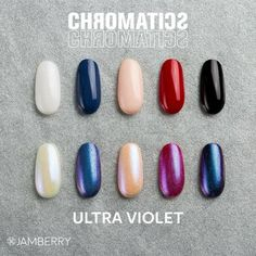 Introducing Chromatics! Add a chrome fo nishbto any nail lacquer or gel... make your mani stand out! Boymomoutnumbered.jamberry.com