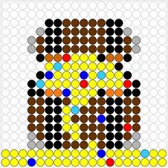 Treasure perler bead pattern Pirate Activities, Pearler Beads, Pirate Party, Signs, Beading Patterns, Pixel Art, Kids Rugs, Cowboys, Brownies