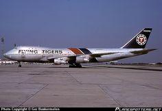 N819FT Flying Tiger Line Boeing 747-121(SF)