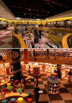 Livraria Cultura Bookstore, São Paulo, Brazil