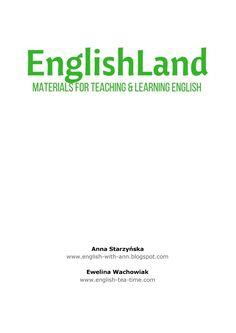 angielski, dla nauczycieli handouty, pomoc, english