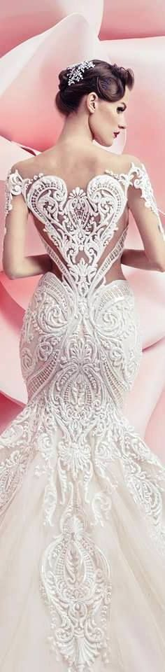 Wedding Dresses Interesting Backs 21