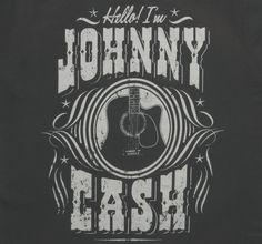 Hello I'm Johnny Cash T-Shirt