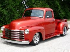 1952 #Chevy 3100 #Custom #PickUp #Truck. #Style #Design #Cool