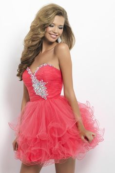 2013 Homecoming Dresses A Line Sweetheart Short/Mini With Ruffles Beading