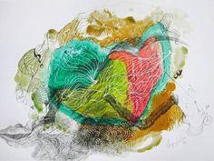 "Saatchi Art Artist Marijah Bac Cam; Drawing, ""A Hair Under My Skin"" #art"