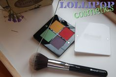First Impressions: Lollipop Cosmetics #palette #review #makeup #eyeshadows #bright #colorful #powder #brush #soft #mixandmatch #matte #pigmented