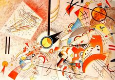 Wassily Kandinsky, Bustling Aquarelle (ca. 1923)  // I could get lost in this one.
