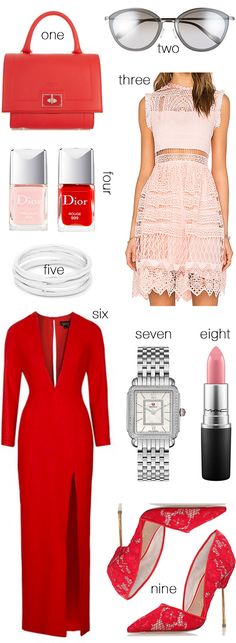 Pink and Red Favorites | Hello Fashion