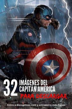 Descarga las mejores imágenes del Capitán América para utilizar como fondos de pantalla