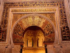 Mosque–Cathedral of Córdoba / Great Mosque of Córdoba, 784-987. #Córdoba #Andalusia #Spain