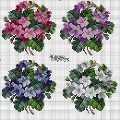 Floral bouquets charts